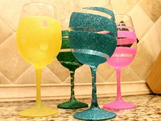 Wine Glasses Or Champagne Flutes