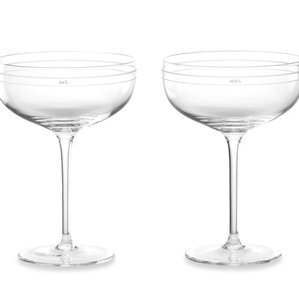 Kate Spade New York Darling Point Champagne Glasses