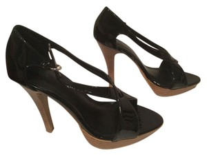 Shiekh Black patent Platforms