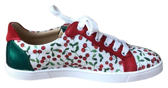 Item - White Green Red New Sneakers Size US 8.5 Regular (M, B)