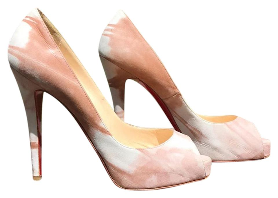 Christian Louboutin Louboutin Christian Nude/Blush Very Prive Platforms f05ddd
