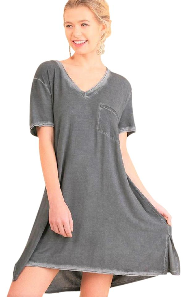 ae33b891f38 Umgee Ash Boutique Washed T M L Short Casual Dress Size 4 (S) - Tradesy
