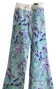 Lilly Pulitzer Wide Leg Pants Lilly's Lilac