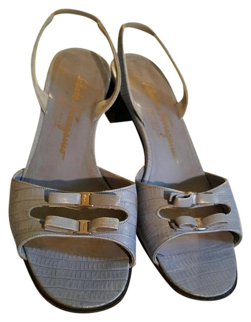 Item - Light Blue Sandals Size US 7 Regular (M, B)