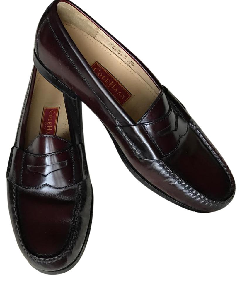 e7f710e3324 Cole Haan Burgundy Pinch Penny Moc-toe Loafers Flats. Size  US 10 Wide (C  ...