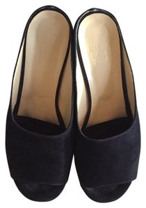 Maryam Nassir Zadeh Navy Blue Sandals
