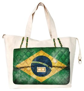 Thursday Friday Canvas Diamonds Tote