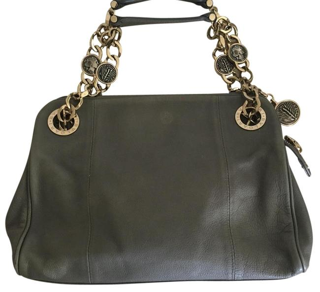 Item - Coin Neutral-grey Leather Satchel