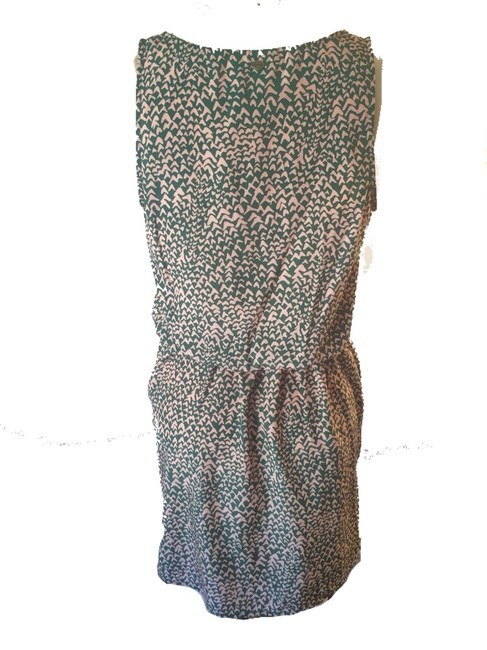 Guess short dress Dark Green With Beige on Tradesy