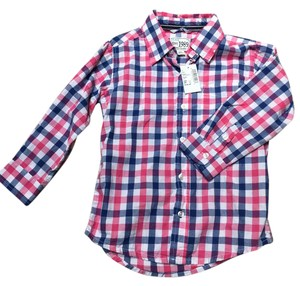 The Children's Place Boy Toddler 3t 2t Holiday Button Down Shirt