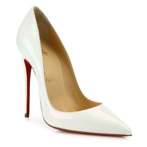 4d9badefe54 Christian Louboutin White Patent AB Pumps