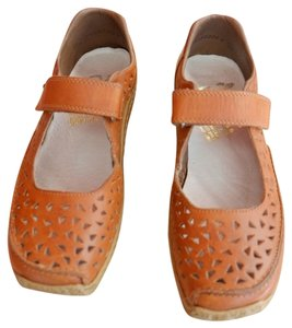 Rieker Brown Flats