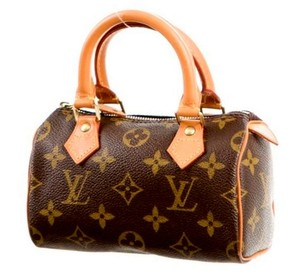 Louis Vuitton Speedy Lv Monogram Canvas Lv Cross Body Bag