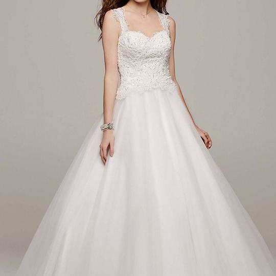 Red And White At David S Bridal Wedding Dress: David's Bridal Soft White Tulle Ball Gown Traditional