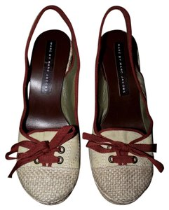 Marc by Marc Jacobs Boho Wedge Brown Wedges