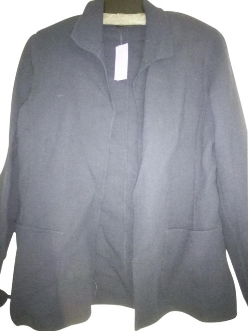 Item - Very Dark Blue Open Front Jacket Size 2 (XS)