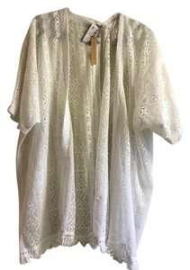 Gibson & Latimer White Swim cover up