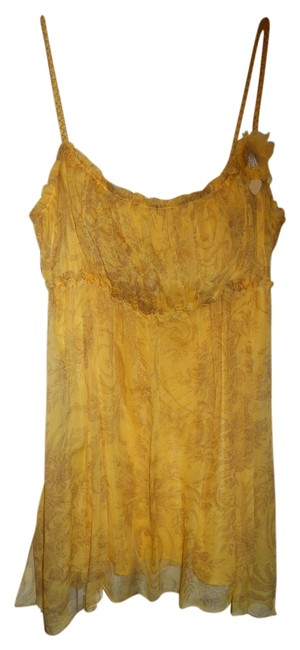 Preload https://img-static.tradesy.com/item/2174179/max-studio-yellow-and-brown-special-edition-s-silk-baby-doll-tank-topcami-size-4-s-0-0-650-650.jpg