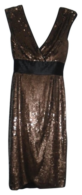Item - Brown Reeve Sequin Short Cocktail Dress Size 0 (XS)