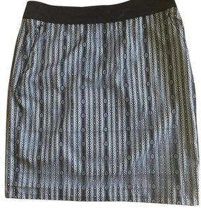Etcetera Lace Skirt Black and white