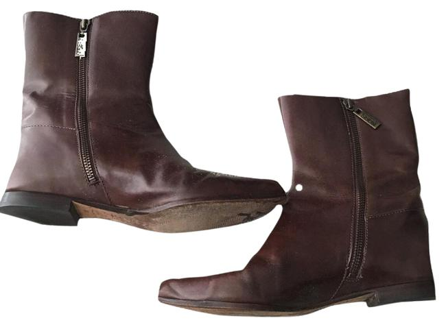 Item - Brown Leather Boots/Booties Size US 8 Regular (M, B)