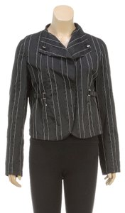 Giorgio Armani Black Womens Jean Jacket