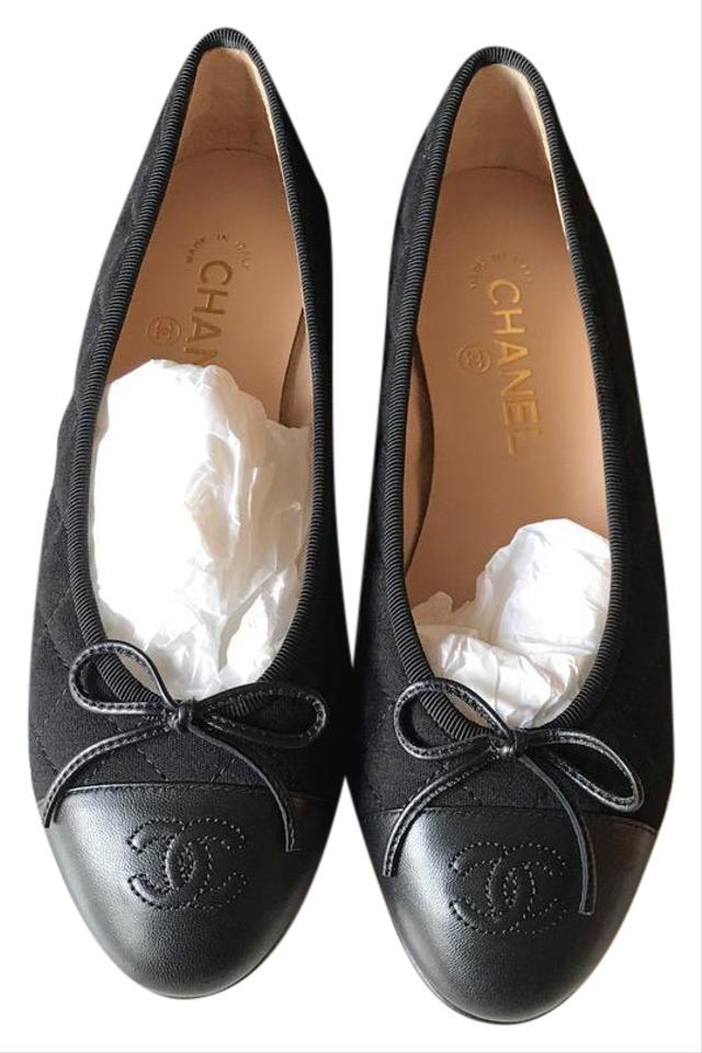 Chanel Quited Flats - Up to 70% off at Tradesy : chanel quilted shoes - Adamdwight.com
