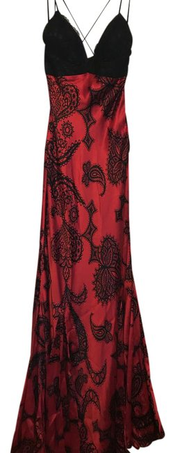 Preload https://img-static.tradesy.com/item/21743280/mary-l-couture-red-black-with-lace-bust-80739-long-formal-dress-size-4-s-0-1-650-650.jpg
