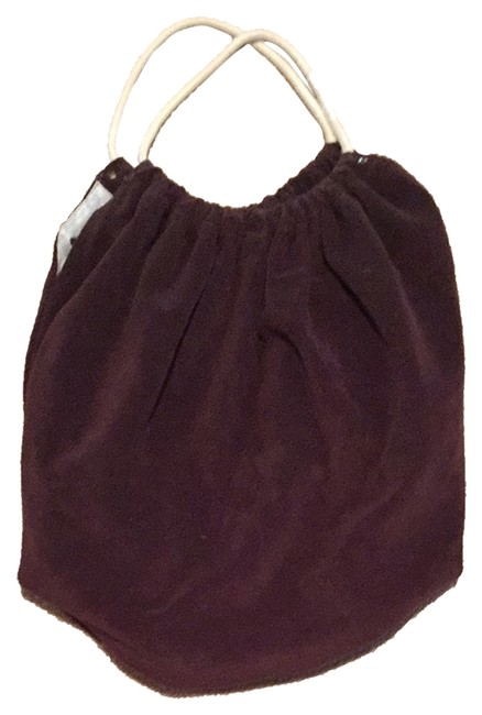 Item - Brown Terry Beach Bag
