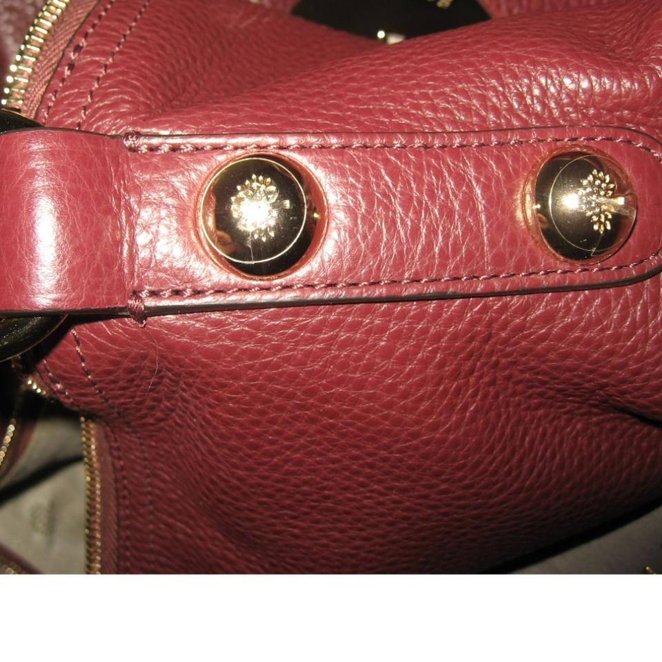 dedec1d8517c Mulberry Daria Medium Oxblood Leather Hobo Bag - Tradesy