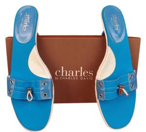 Charles David TURQUOISE Sandals
