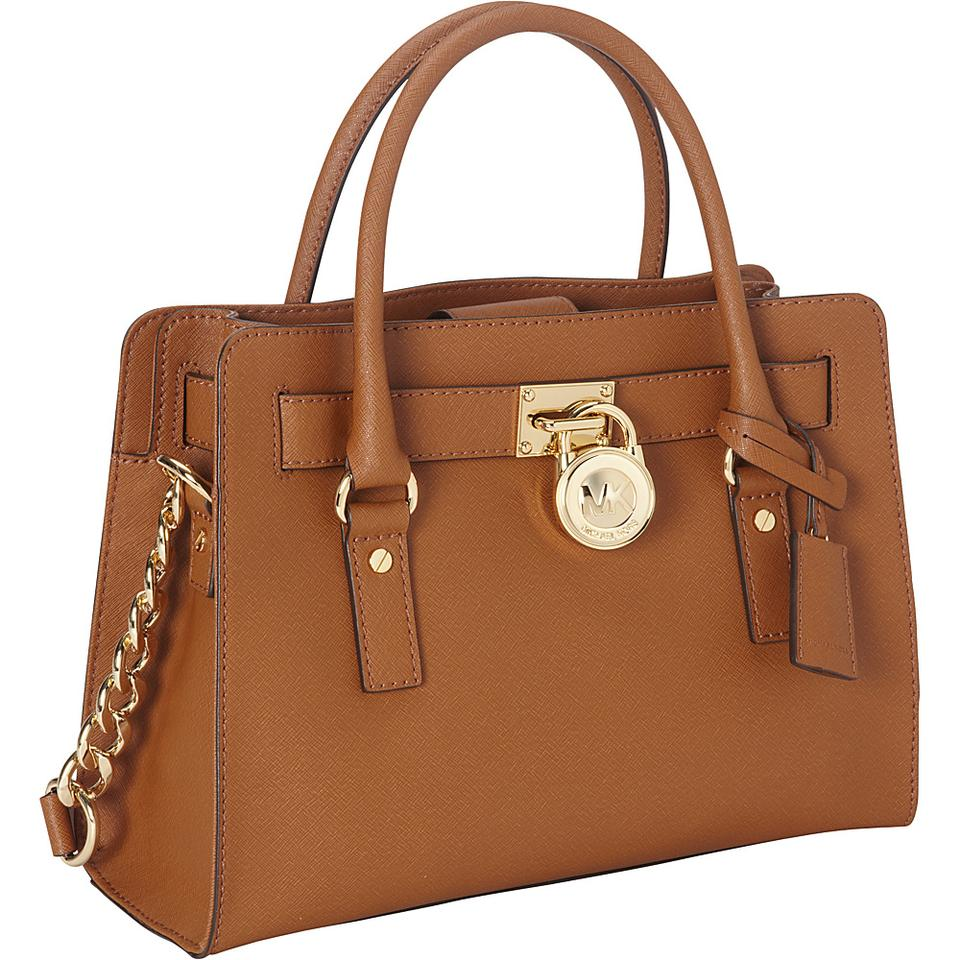 7858001b82e7 Michael Kors Hamilton (New with Tags) Luggage Brown/Gold Matching ...