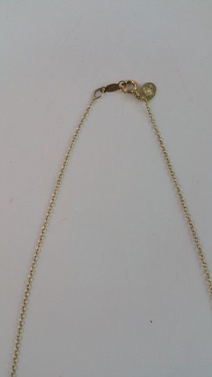 Adelaide Maria Apatite faceted beads in sterling siver chain, yellow gold plated Image 3