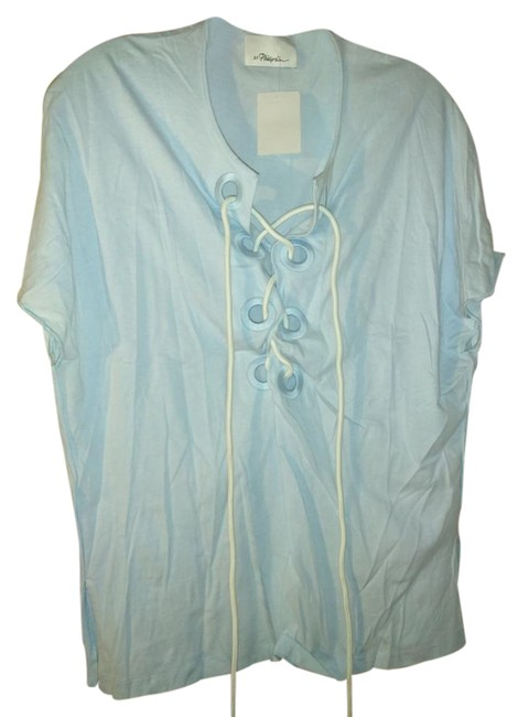 Preload https://img-static.tradesy.com/item/21745076/31-phillip-lim-pale-blue-cotton-with-grommets-and-rope-lacing-tunic-size-8-m-0-1-650-650.jpg