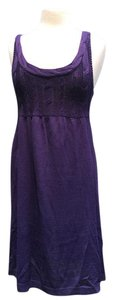 Divided by H&M short dress Purple Tank Cable Knit on Tradesy