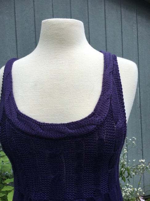 Divided by H&M short dress Purple Tank Cable Knit on Tradesy Image 1