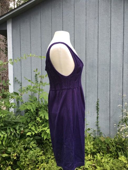 Divided by H&M short dress Purple Tank Cable Knit on Tradesy Image 2