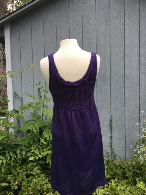 Divided by H&M short dress Purple Tank Cable Knit on Tradesy Image 3