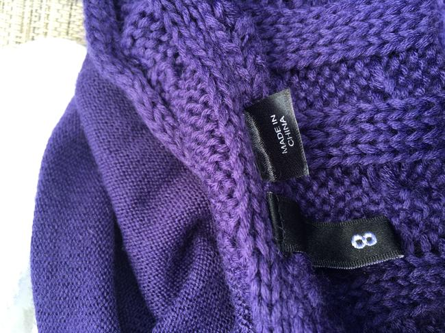 Divided by H&M short dress Purple Tank Cable Knit on Tradesy Image 4