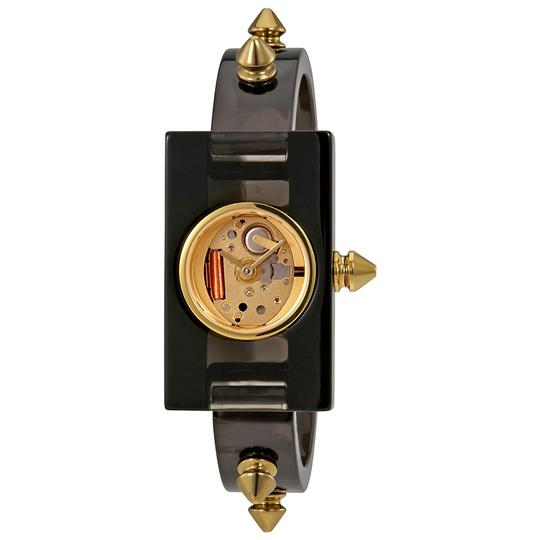 Gucci Vintage Web Champage Dial Plexiglass Ladies Dress Watch Style Analog Image 1