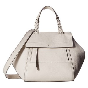 Tory Burch Half-moon Ivory White Satchel in New Ivory