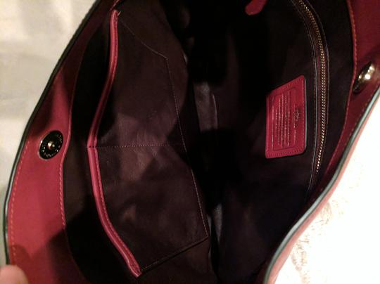 Coach Nomad Glove Tanned Leather 36026 Hobo Bag Image 3