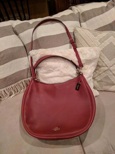 Coach Nomad Glove Tanned Leather 36026 Hobo Bag Image 4