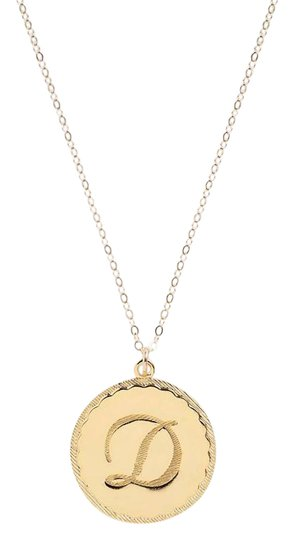 Moon and Lola Moon and Lola Dalton Initial D Pendant Necklace Image 0