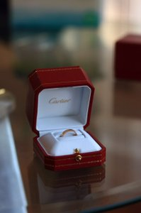 Cartier Yellow Gold 18k Love Ring- Size 49 (Us 4.75) Women's Wedding Band