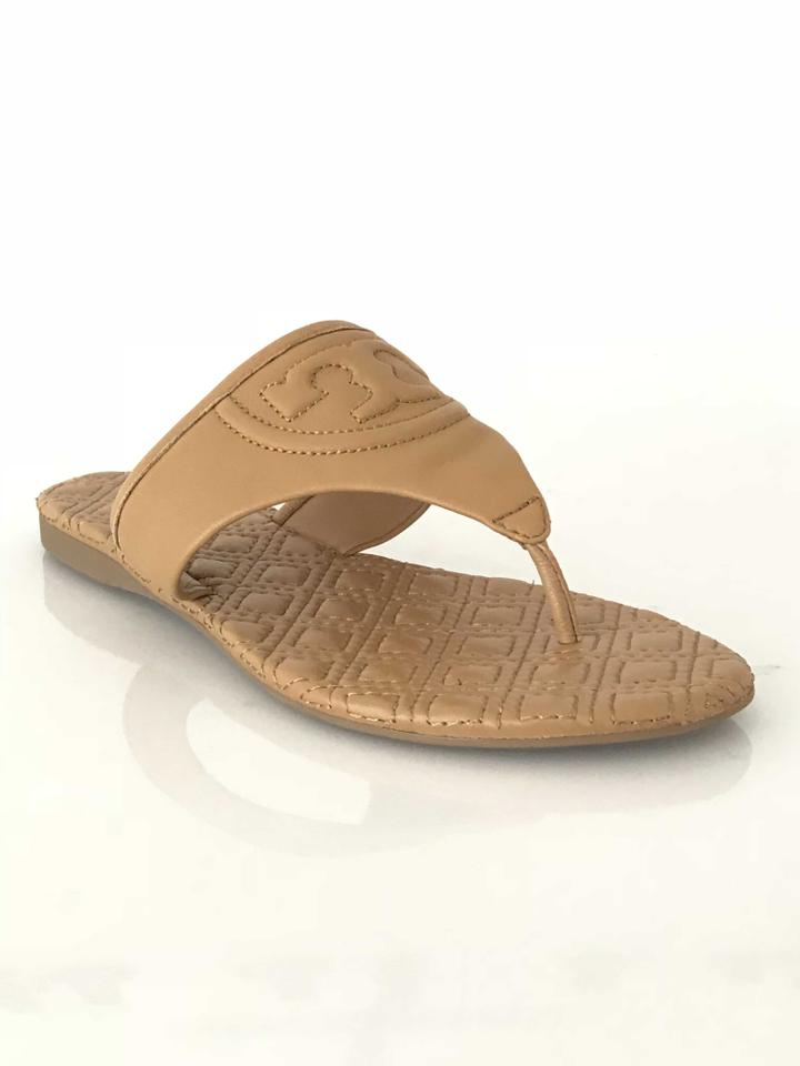 Tory Burch Sandals Blond Fleming Quilted Thong Sandals Burch cd77a7