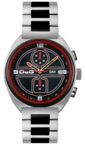Dolce&Gabbana Dolce & Gabbana Male Dress Watch DW0303 Black Analog