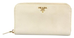 Prada Prada zip Around Wallet