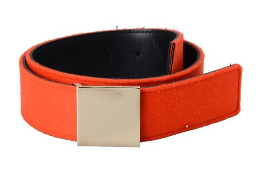 Hugo Boss Hugo Boss Women's Reversible Leather & Wool Belt Image 0