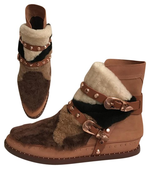 Preload https://img-static.tradesy.com/item/21747002/ivy-kirzhner-brown-multi-new-antarctic-leather-sheep-shearling-comfortable-bootsbooties-size-us-8-re-0-1-540-540.jpg